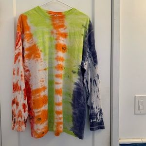 Men's tie dye shirt